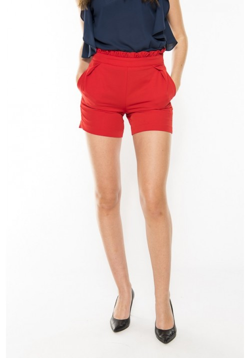 SHORTS ROUGE-ROSSO
