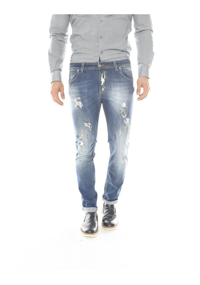 buy online d6080 2a2f7 Collezione di jeans strappati e effetto consumato da uomo