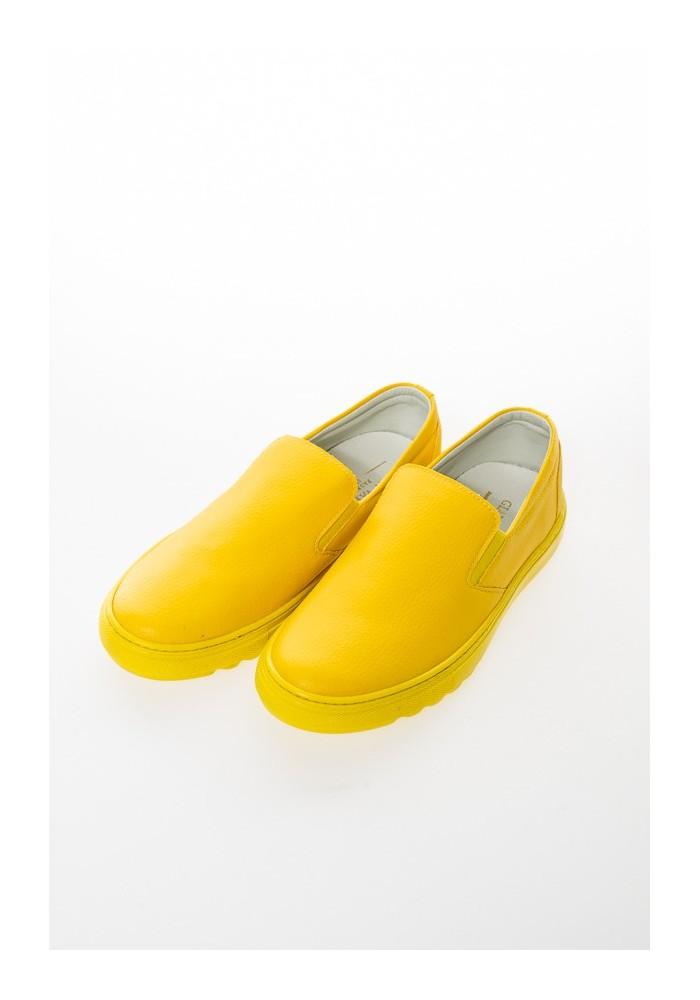 vans striscia gialla